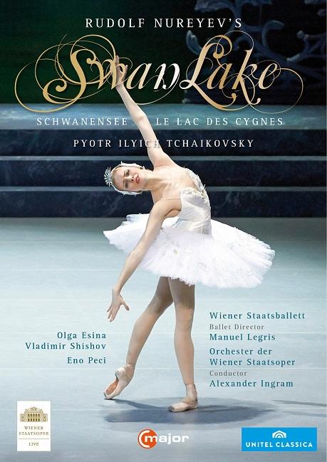 ウィーン国立歌劇場バレエ団「白鳥の湖」ヌレエフ版(直輸入DVD)