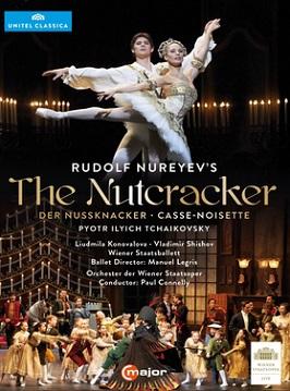 ウィーン国立歌劇場バレエ団「くるみ割り人形」ヌレエフ版(直輸入DVD)