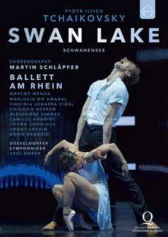 ドイツ・ライン歌劇場バレエ(バレエ・アム・ライン)「白鳥の湖」シュレプファー版 (直輸入DVD)