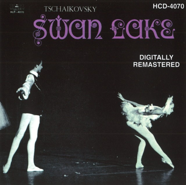 CD SWAN LAKE (HCD-4070)