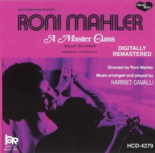 CD Roni Mahler - A Master Class (HCD-4279)