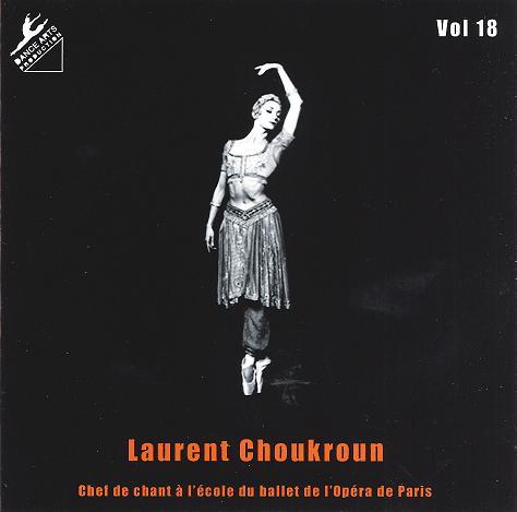 ローラン・シュクルン Laurent Choukroun Vol.18(CD)