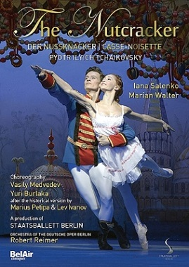 【OpusArte&BelAirフェア】ベルリン国立バレエ「くるみ割り人形」サレンコ&ヴァルター (直輸入DVD)