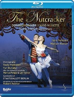 ベルリン国立バレエ「くるみ割り人形」サレンコ&ヴァルター (直輸入Blu-ray)