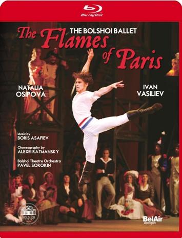 ボリショイ・バレエ「パリの炎」オシポワ&ワシーリエフ(直輸入Blu-ray)