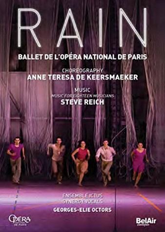 【OpusArte&BelAirフェア】パリ・オペラ座バレエ「レイン」 (直輸入DVD)