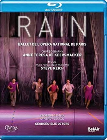 【OpusArte&BelAirフェア】パリ・オペラ座バレエ「レイン」 (直輸入Blu-ray)