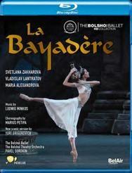 【OpusArte&BelAirフェア】ボリショイ・バレエ「ラ・バヤデール」ザハーロワ&ラントラートフ(直輸入Blu-ray)