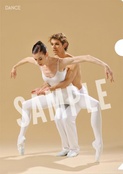 バレエダンサー クリアファイル E・ロス&J・ファブロー「愛が私に語りかけるもの」