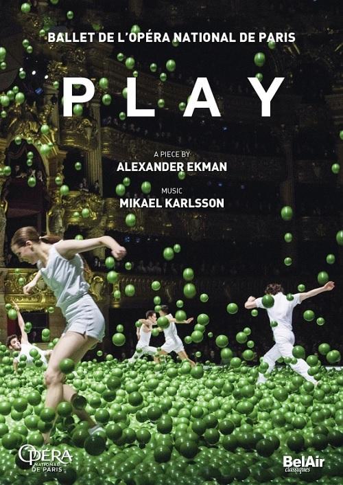 【OpusArte&BelAirフェア】パリ・オペラ座バレエ「PLAY」 (直輸入DVD)