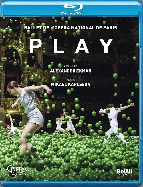【OpusArte&BelAirフェア】パリ・オペラ座バレエ「PLAY」 (直輸入Blu-ray)
