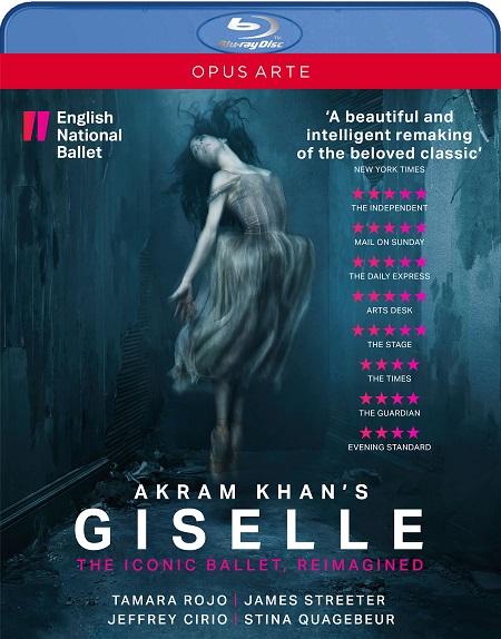 イングリッシュ・ナショナル・バレエ アクラム・カーンの「ジゼル」 (直輸入Blu-ray)