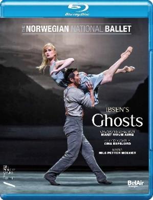 ノルウェー国立バレエ「幽霊(ゴースト)」 (直輸入Blu-ray)