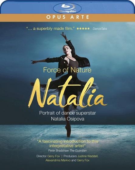 「Force of Nature - Natalia」ナタリア・オシポワ ドキュメンタリー(直輸入Blu-ray)