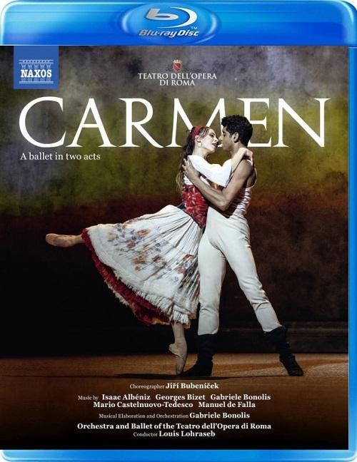 ローマ歌劇場バレエ「カルメン」全2幕(直輸入Blu-ray)