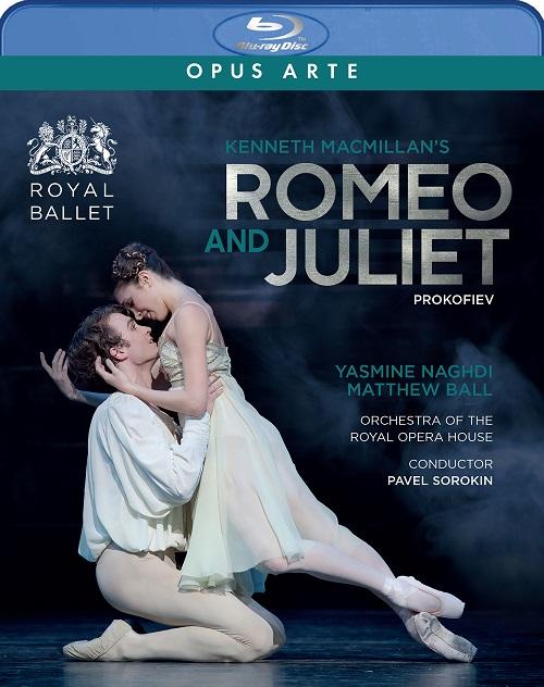 【6月上旬発売予定 ご予約】英国ロイヤル・バレエ「ロミオとジュリエット」ナグディ&ボール(直輸入Blu-ray)