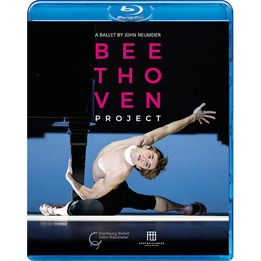 【OpusArte&BelAirフェア】ハンブルク・バレエ「ベートーヴェン・プロジェクト」振付:ノイマイヤー(直輸入Blu-ray)