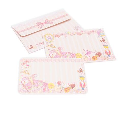 <たけいみき>メッセージカード&封筒