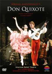 ミハイル・バリシニコフの「ドン・キホーテ」アメリカン・バレエ・シアター(DVD)