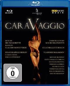 【OpusArte&BelAirフェア】ベルリン国立バレエ「カラヴァッジオ」セミオノワ&マラーホフ(直輸入Blu-ray)
