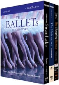 【OpusArte&BelAirフェア】チャイコフスキーBOX THE BALLETs TCHAIKOVSKY (直輸入DVD-BOX)