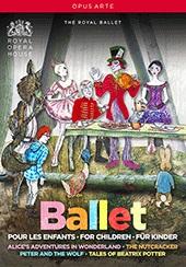英国ロイヤル・バレエ 子供のためのバレエBOX  (直輸入DVD-BOX)