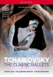 【OpusArte&BelAirフェア】英国ロイヤル・バレエ チャイコフスキー・クラシックBOX TCHAIKOVSKY THE CLASSIC BALLETS (直輸入DVD-BOX)