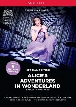 英国ロイヤル・バレエ「不思議の国のアリス」(全2幕)(直輸入DVD特装版)