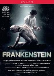 英国ロイヤル・バレエ「フランケンシュタイン」(直輸入DVD)