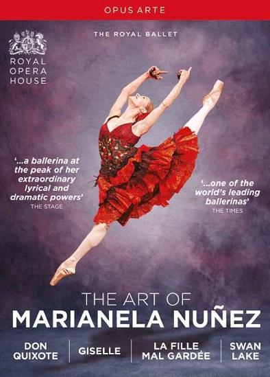 【OpusArte&BelAirフェア】英国ロイヤル・バレエ マリアネラ・ヌニェスの芸術BOX (直輸入DVD-BOX)
