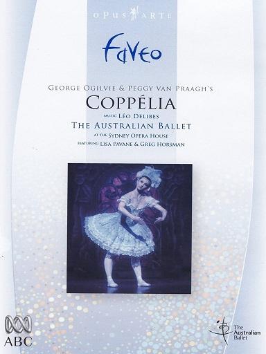 オーストラリア・バレエ「コッペリア」 (直輸入DVD)