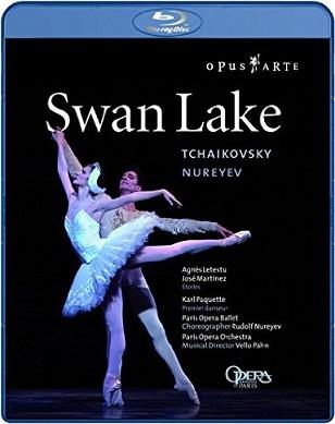 パリ・オペラ座バレエ「白鳥の湖」ヌレエフ版(直輸入Blu-ray)