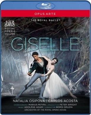 英国ロイヤル・バレエ「ジゼル」オシポワ&アコスタ(直輸入Blu-ray)