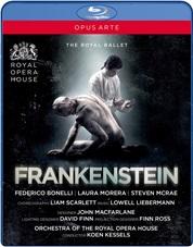 英国ロイヤル・バレエ「フランケンシュタイン」(直輸入Blu-ray)