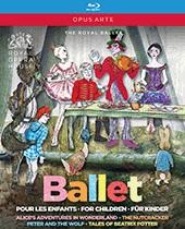 英国ロイヤル・バレエ 子供のためのバレエBOX  (直輸入Blu-ray-BOX)