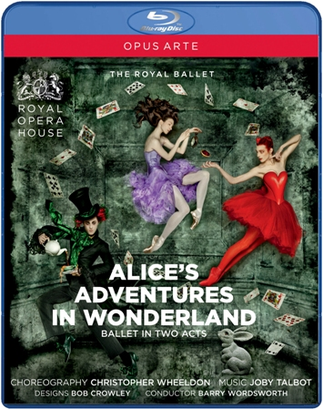 英国ロイヤル・バレエ「不思議の国のアリス」(全2幕)(直輸入Blu-ray)