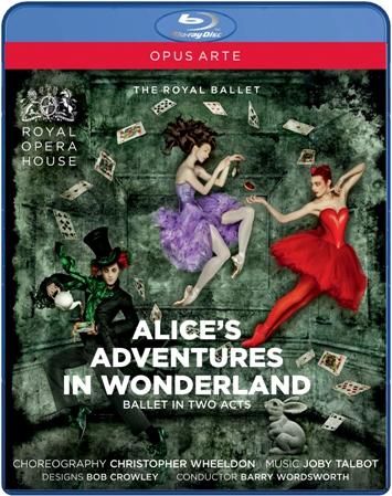 【OpusArte&BelAirフェア】英国ロイヤル・バレエ「不思議の国のアリス」(全2幕)(直輸入Blu-ray)