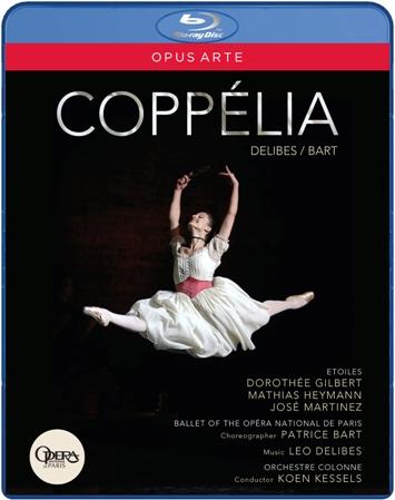 【OpusArte&BelAirフェア】パリ・オペラ座バレエ「コッペリア」全2幕 パトリス・バール版(直輸入Blu-ray)