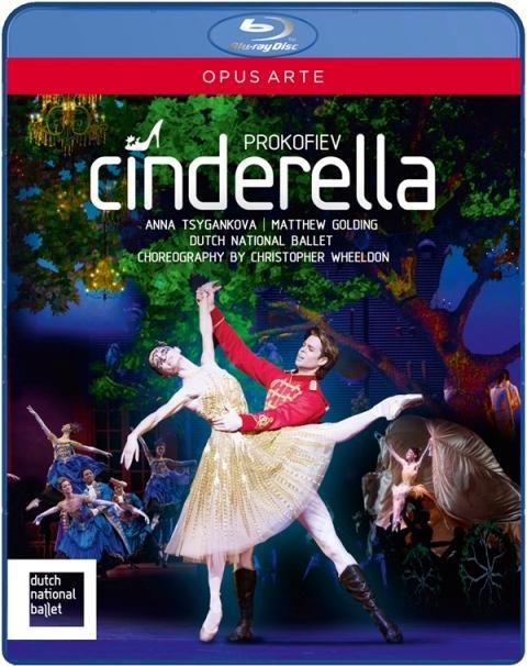 【OpusArte&BelAirフェア】オランダ国立バレエ「シンデレラ」クリストファー・ウィールドン版(直輸入Blu-ray)