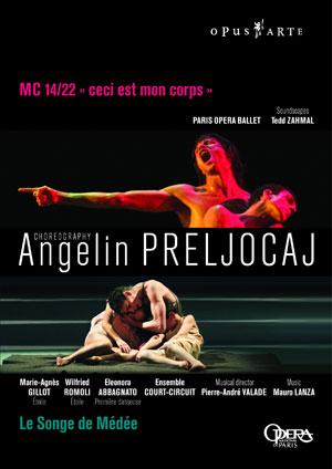 パリ・オペラ座バレエ「メディアの夢」「MC14/22」(直輸入DVD)
