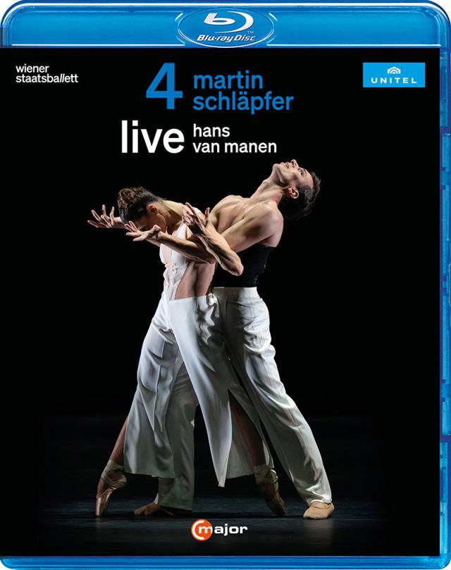 ウィーン国立バレエ「Mahler / Live」(直輸入Blu-ray)