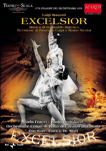 ミラノ・スカラ座バレエ「エクセルシオール」全2幕1978(直輸入DVD)