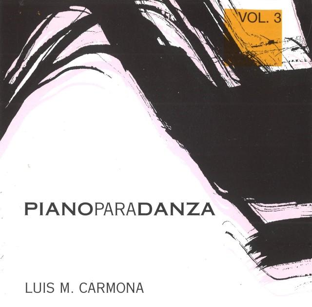 CD PIANO PARA DANZA Vol.3