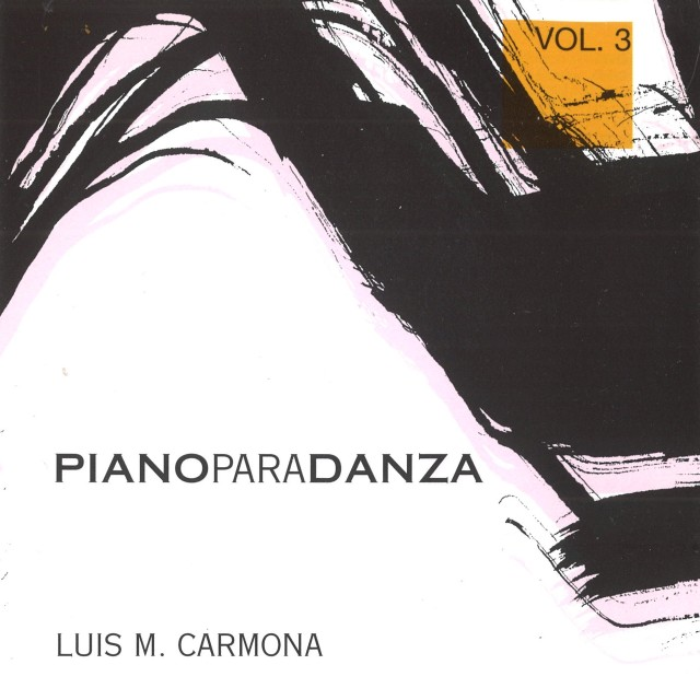 CD PIANO PARA DANZA Vol.3