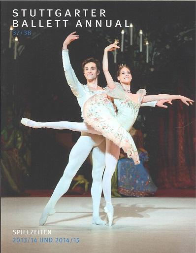 シュツットガルト・バレエ イヤーブック Stuttgarter Ballett Annual 37/38 UND 2014/15