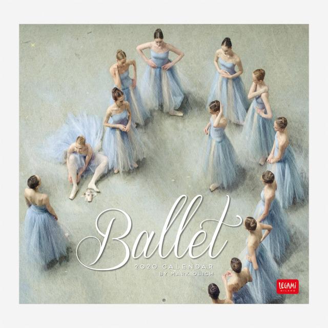 【SALE】直輸入バレエ・カレンダー2020 Mark Olich Wall Calendar 2020