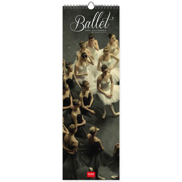 直輸入バレエ・カレンダー/縦長 2021 Mark Olich Wall Calendar 2021