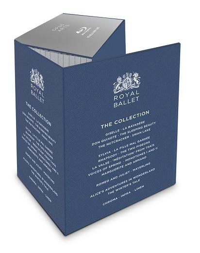 【OpusArte&BelAirフェア】英国ロイヤル・バレエ コレクション・ボックス ROYAL BALLET THE COLLECTION (直輸入Blu-ray-BOX)【特典付】