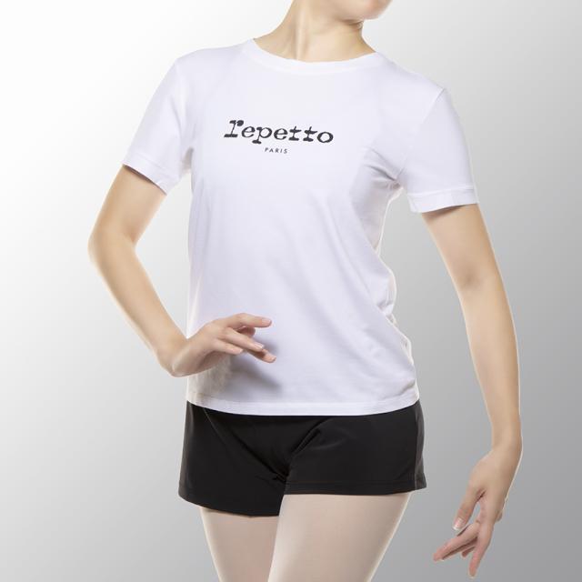 〈レペット〉R0257 ロゴ入りTシャツ