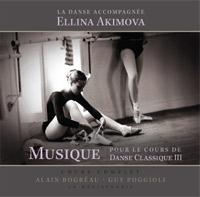 エリーナ・アキモヴァ Musique pour le Cours de Danse Classique 3(CD)